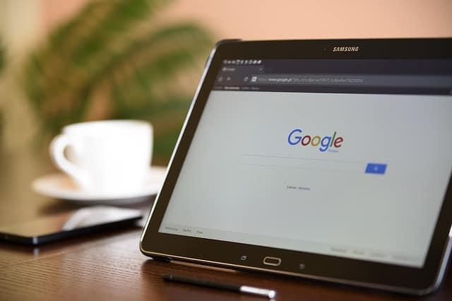 motori di ricerca Google mobile tablet